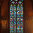 Stained-glass window in cathedral — Stock Photo #30306019
