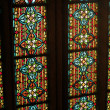 Stained-glass window in cathedral — Stock Photo #30306049