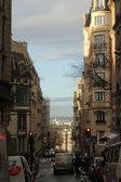 French street with buildings — Foto de Stock