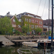 Beautiful Amsterdam canals and buildings — Stock Photo #45595019