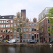 Beautiful Amsterdam canals and buildings — Stock Photo #45595043