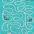 On The Sea Maze Game -  