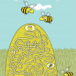 ������, ������: Honey Bees Maze Game