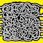 ABC hand-drawn Maze Game — Stock Vector #22468805