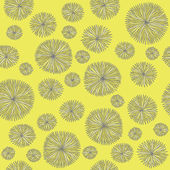 Vintage Flower Pattern — Stockvector