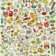 Big Doodle Icons Set — Stock Vector #22515933