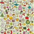 Big Doodle Icons Set - Stockvectorbeeld
