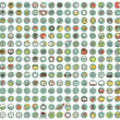 Collection of 225 web and mobile doodled icons — Stock Vector #27224959