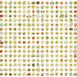 图库矢量图片: XXL Collection of 289 doodled icons for every occasion No.3