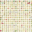 图库矢量图片: XXL Collection of 289 doodled icons for every occasion No.2