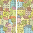 City Differences Visual Game — Image vectorielle