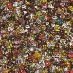 Halloween seamless pattern — Stock Vector #42450395