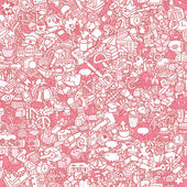 School seamless pattern — Stockvector
