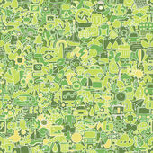 Ecology seamless pattern — Stockvector