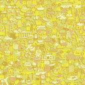 Travel seamless pattern  — Vecteur