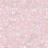 Medicine seamless pattern — Vecteur