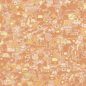 Symbols seamless pattern — Vecteur