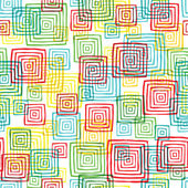 Squares seamless pattern — Stock Vector