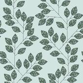 Branch seamless pattern — Vecteur
