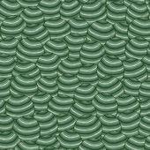 Modèle sans couture de sphère — Vecteur
