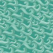 Modèle sans couture d'ornement waves — Vecteur