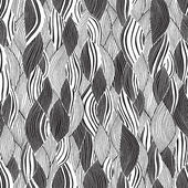 Beach seamless pattern in black and white — Cтоковый вектор