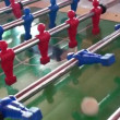 Table football game — Stock Video
