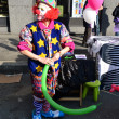 Foto Stock: Carnival parade, clown