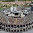 ������, ������: Theatre of the Colosseum Rome Italy in Miniature Park