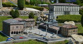Freedom Square, Udine - Italy in Miniature Park — Stock Photo