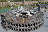 Theatre of the Colosseum, Rome - Italy in Miniature Park — Stock Photo