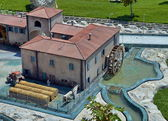 Old farm - Italy in Miniature Park — Stock Photo