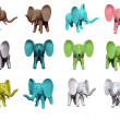 Little elefant — Stock Photo