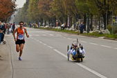 Athletics competition-Stratorino, 2013- turin marathon — Stock Photo