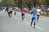 Turyn marathone 17/11/2013. sportowców — Zdjęcie stockowe
