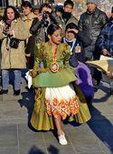 Peruánský náboženský festival — Stock fotografie