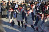 ペルーの宗教的な祭り — ストック写真