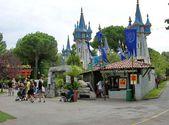 Fiabilandia amusement park. Rimini. Italy — Stock Photo