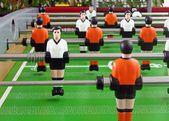 Calcio balilla. gioco. gioco. relax — Foto Stock