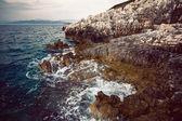 рок и море — Стоковое фото