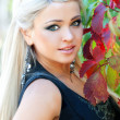 Young woman posing in a park - Outdoor — Stock Photo #29953631