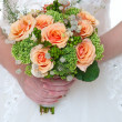 bouquet da sposa — Foto Stock