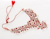 Wedding jewelry Indian bride — ストック写真