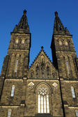 Prague, Czech Republic . Peter and Paul Cathedral in Vysehrad — Stock Photo