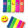 Colorful stickers - Stock Vector
