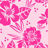 Elegant floral seamless pattern — Stock Vector