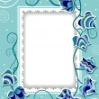 Royalty-Free Stock Vector Image: Decorative card with fancy ivy
