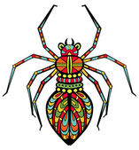 Fancy Spider — Stock Vector