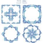Постер, плакат: Floral Design Elements