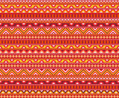 Hot Ethnic Pattern — Stock Vector